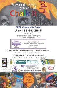 2015 Chalk It Up Poster